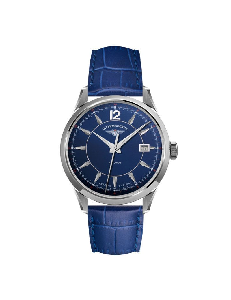 Montre Homme Automatique bleue STURMANSKIE Open Space - 2416-1861993