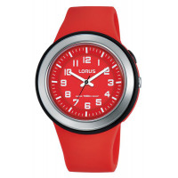 Montre Lorus colors LORUS Mixte Rouge - R2309MX9