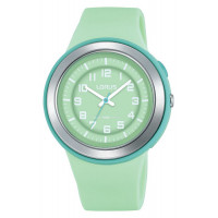 Montre Lorus colors LORUS Mixte Vert d'eau - R2317MX9