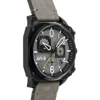 Montre HAWKER HUNTER AVI-8 Homme Gris - AV-4052-03