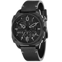 Montre HAWKER HUNTER AVI-8 Homme Noir - AV-4052-06