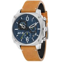 Montre HAWKER HUNTER AVI-8 Homme Bleu - AV-4052-07