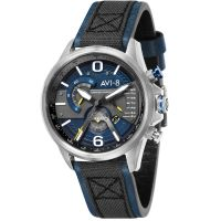Montre HAWKER HARRIER II AVI-8 Homme Bleu - AV-4056-01