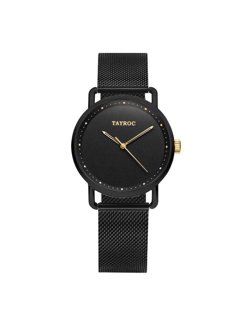 Montre Iconic Chrono TAYROC Homme Noir - TY188