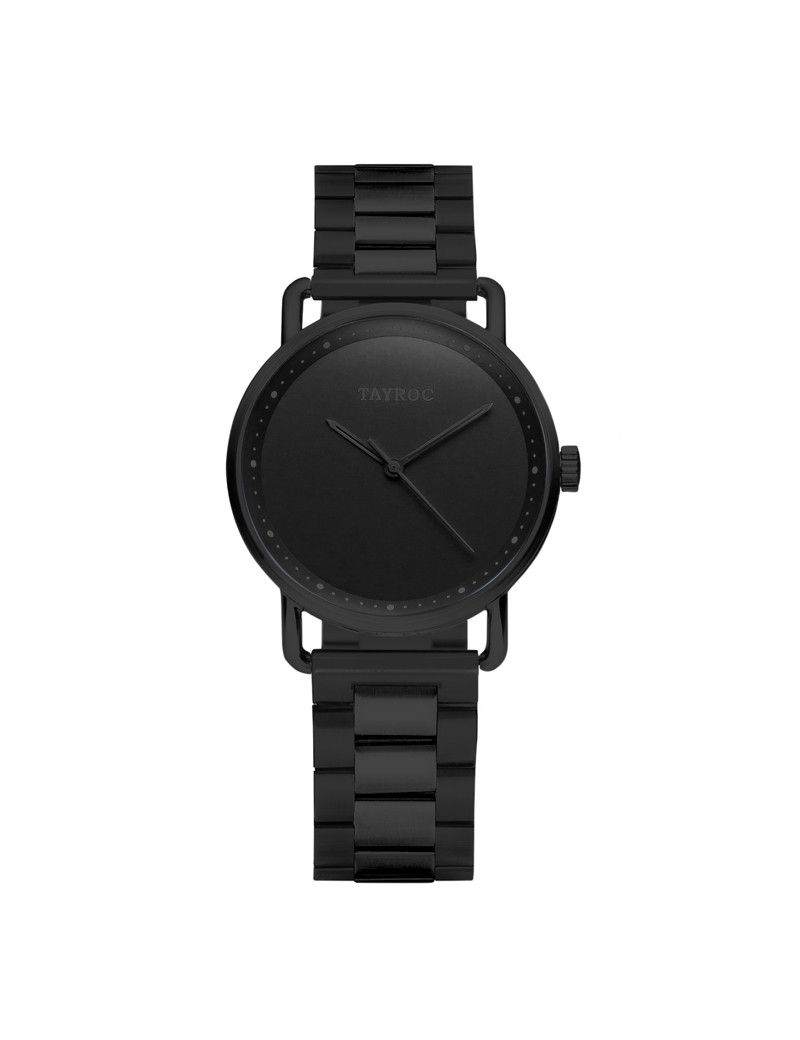 Montre Iconic Chrono TAYROC Homme Noir - TY186