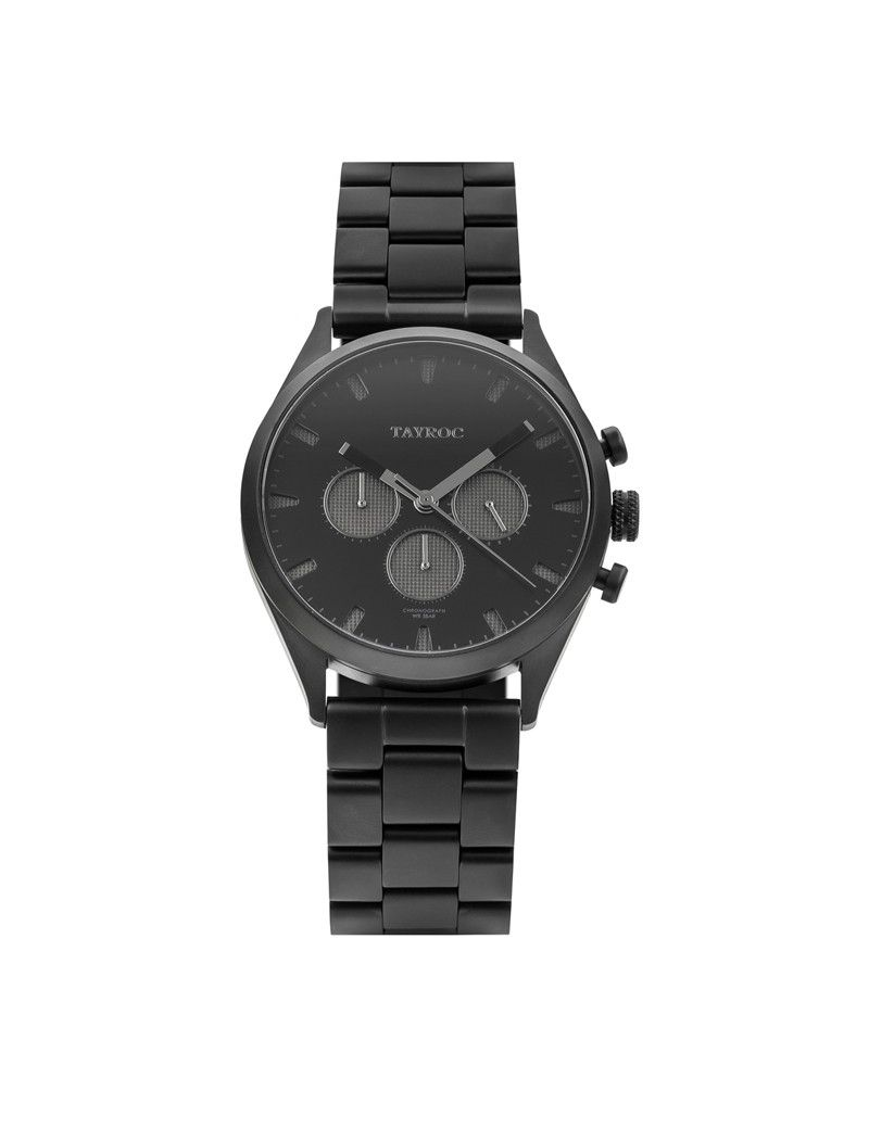 Montre Pioneer Canyon Chrono TAYROC Homme Noir - TY43