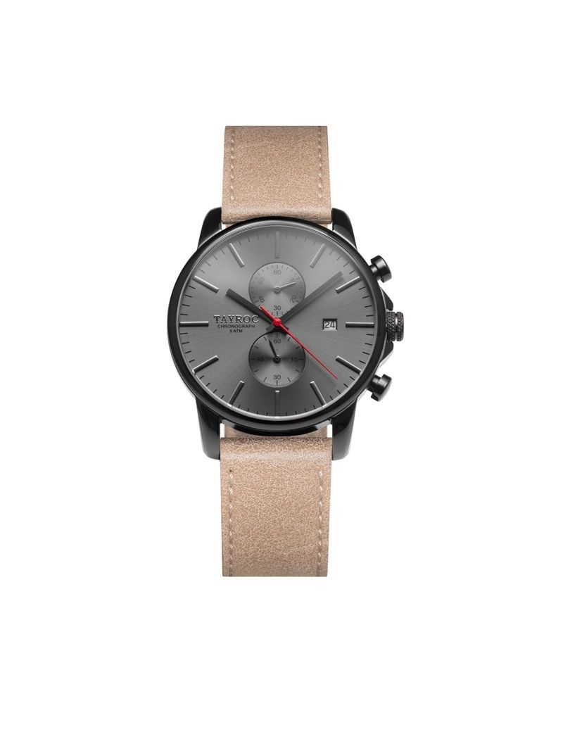Montre Iconic Chrono TAYROC Homme Gris - TY12