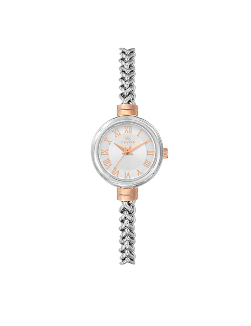 Montre EN MODE INDEMODABLE CLYDA Femme Blanc - CLA0709YBRX