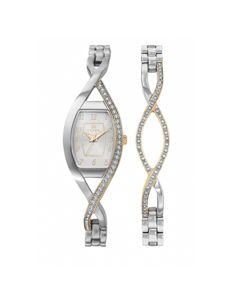 Montre EN MODE INDEMODABLE CLYDA Femme Blanc - CLG0133BBAW