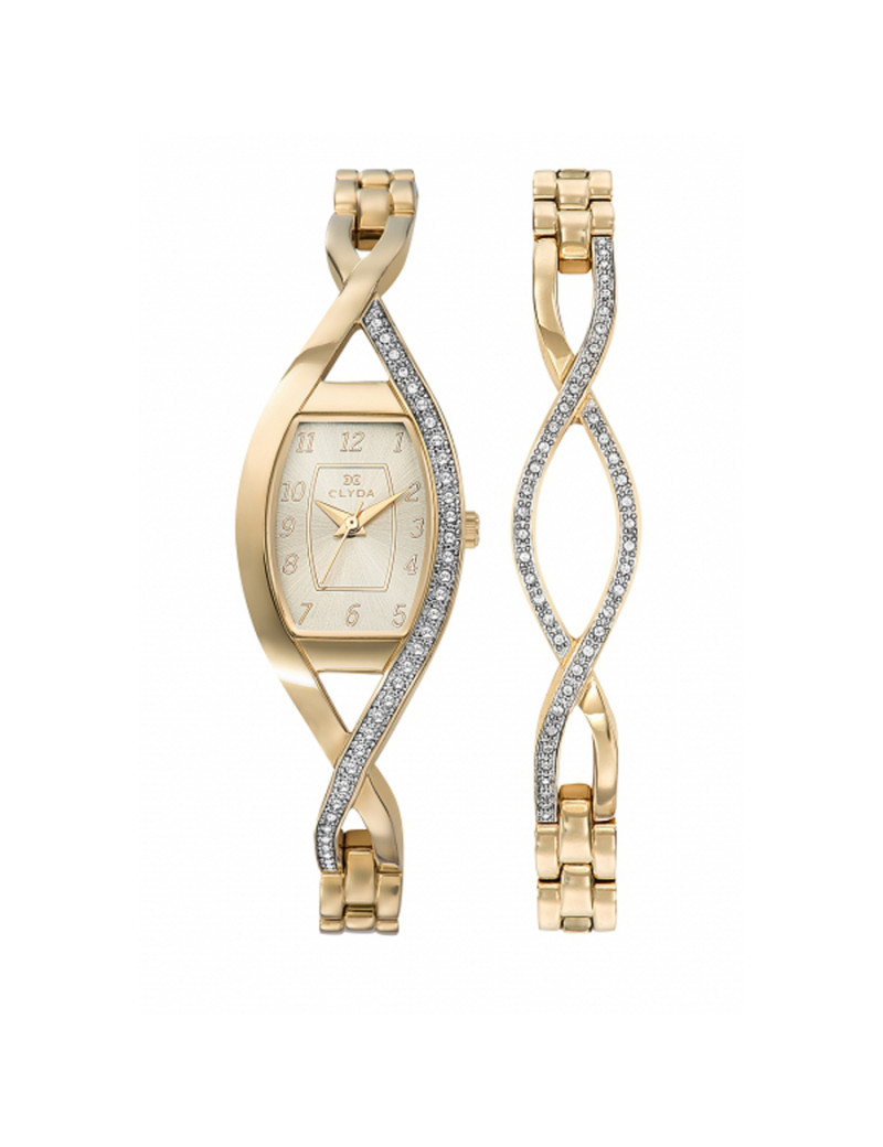 Montre EN MODE INDEMODABLE CLYDA Femme Blanc - CLG0133PTAW