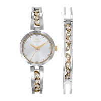 Montre EN MODE NATURE CLYDA Femme Blanc - CLA0749BBPW