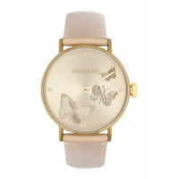 Montre  Morgan Femme Champagne - MG 019-1EE