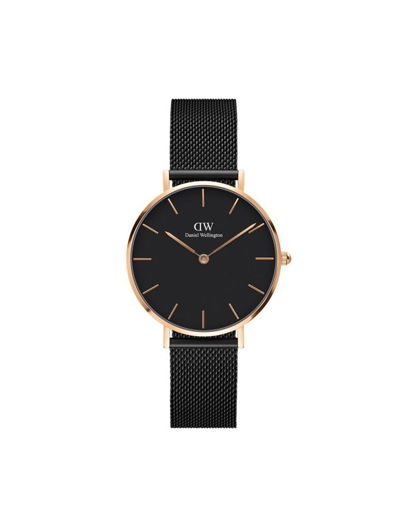 Montre Femme Daniel Wellington Classic Petite Ashfield Rose Gold 32mm -  DW00100202 efc895faffe