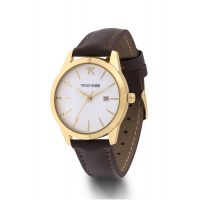 Montre Brune Trendy Kiss Femme Marron - TG10120-01