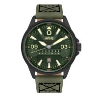 Montre HAWKER HARRIER II AVI-8  Homme Noir - AV-4063-04