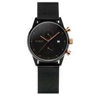 Montre Boundless Chrono TAYROC Homme Noir - TY16