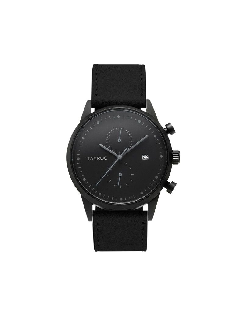 Montre Boundless Chrono TAYROC Homme Noir - TY166