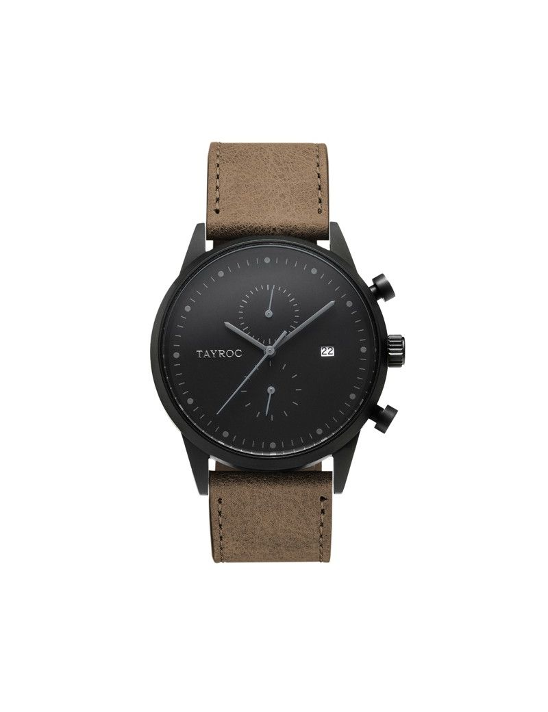 Montre Boundless Chrono TAYROC Homme Marron - TY163