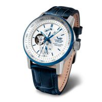 Montre Limousine Open Balance Bleue Automatique  - YN84-565E552