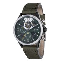 Montre HAWKER HARRIER II AVI-8  Homme Noir - AV-4051-02