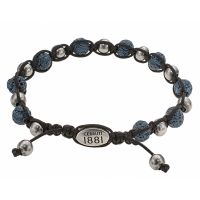 Bracelet Capsule Collection Cerruti Homme Bleu - RH51419B