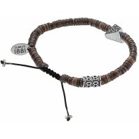 Bracelet Capsule Collection Cerruti Homme Marron - RH51416MN