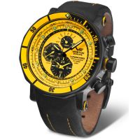 Montre Lunokhod2 Orange et Noir New Edition  - YM86-620A504