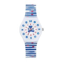 Montre Pop Kid Lulu Castagnette Fille Blanc et Bleu - 38831