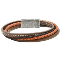Bracelet ARIZONA ROCHET Homme Gold/Marron - B3901504A