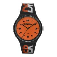 Montre Urban XL Racing Superdry Homme Orange - SYG269BO