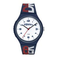 Montre Urban XL Racing Superdry Homme Blanc - SYG269UW
