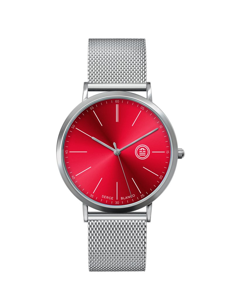 Montre Serie 90 SERGE BLANCO Homme Rouge - SB90/4