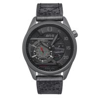 Montre HAWKER HARRIER II AVI-8 Homme Noir - AV-4070-03