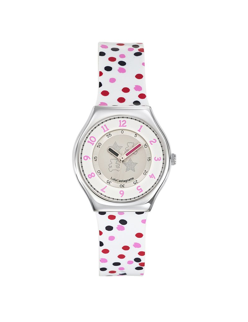 Montre fille LuluCastagnette multicolore - 38708