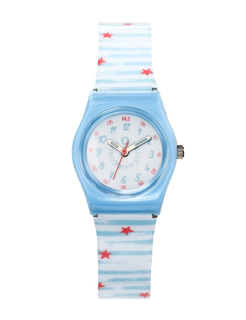 Montre Pop Kid Lulu Castagnette Fille Blanc - 38838