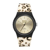 Montre URBAN LEOPARD Superdry Femme Champagne - SYL299GB