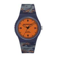 Montre URBAN FLURO CAMO Superdry Mixte Orange - SYG296UO