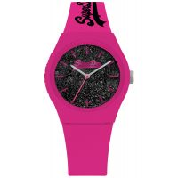 Montre URBAN GLITTER Superdry Femme Rose - SYL001BP