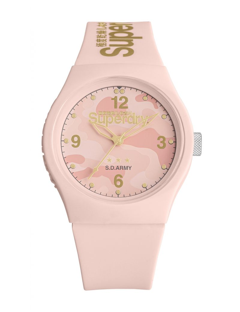 Montre URBAN ARMY Superdry Femme Rose - SYL006PP