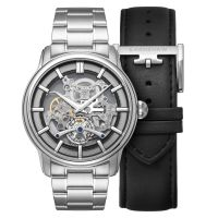 Montre Longitude Whiston EARNSHAW Homme Noir - ES-8126-22