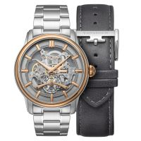 Montre Longitude Whiston EARNSHAW Homme Gris - ES-8126-44