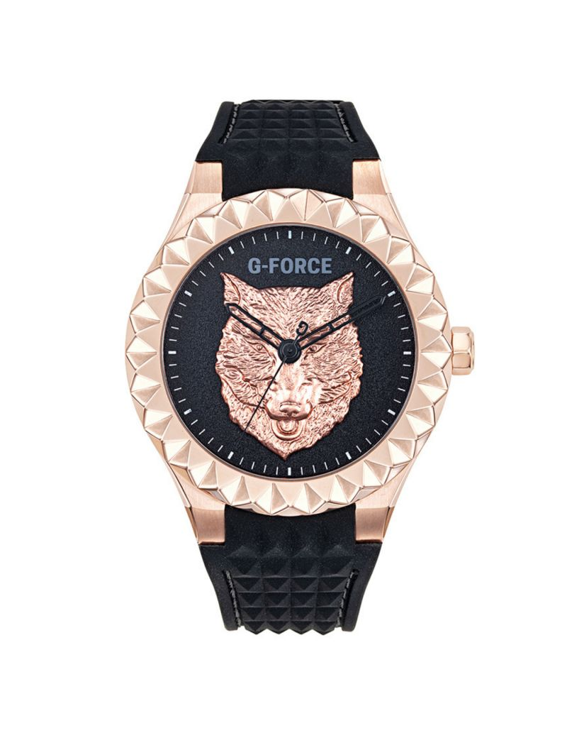 Montre CHESTER WOLF G-FORCE Homme Noir - 6811001