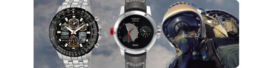 Montres pilote aviation professionnel - Boutikenvogue