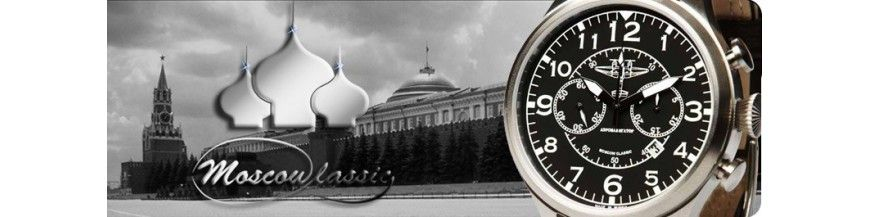 Montres MOSCOW Classic Russe - Boutikenvogue