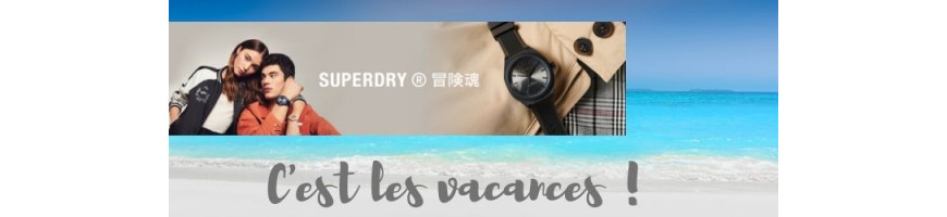 La collection Montres Superdry sur Boutikenvogue.com