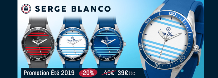 Montre Serge Blanco Promotion